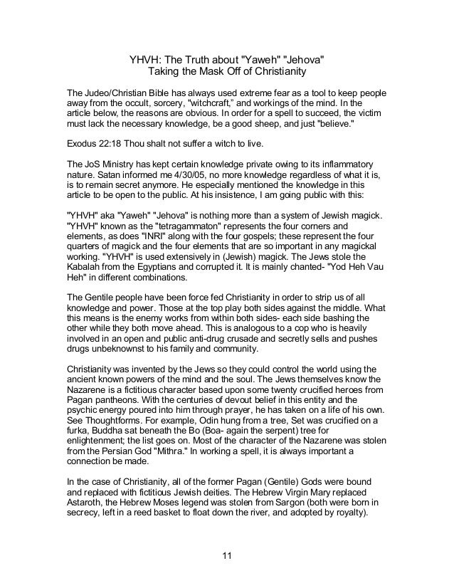 Jo s exposing christianity volume 1 - the christian hoax