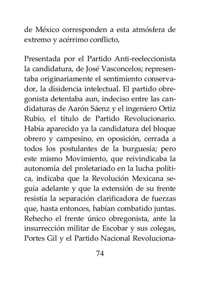 José carlos mariátegui la revolución mexicana (formato medio oficio)