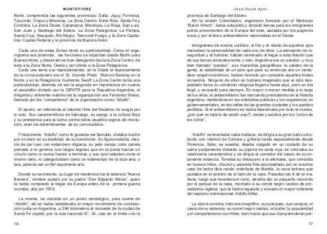 M ON T E F IOR E  - José David Apel-  Norte, comprendía las siguientes provincias: Salta, Jujuy, Formosa, Tucumán, Chaco y...