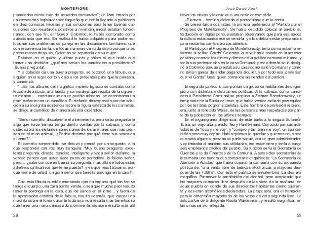 """M ON T E F IOR E  - José David Apel-  planteados como """"ruta de acuerdos comunales""""; un libro creado por un reconocido legi..."""