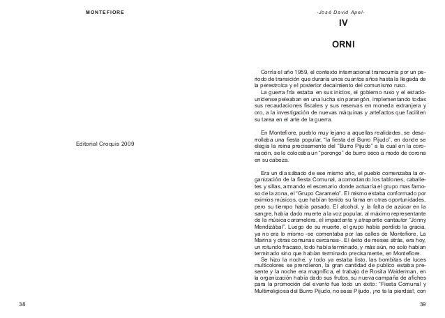 M ON T E F IOR E  - José David Apel-  IV ORNI Corría el año 1959, el contexto internacional transcurría por un periodo de ...