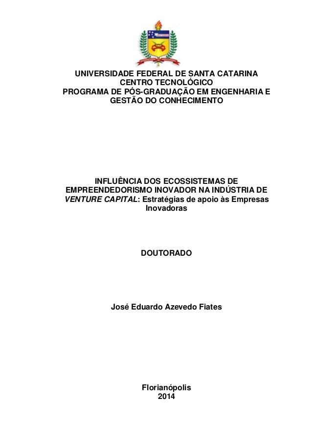 1 UNIVERSIDADE FEDERAL DE SANTA CATARINA CENTRO TECNOLÓGICO PROGRAMA DE PÓS-GRADUAÇÃO EM ENGENHARIA E GESTÃO DO CONHECIMEN...