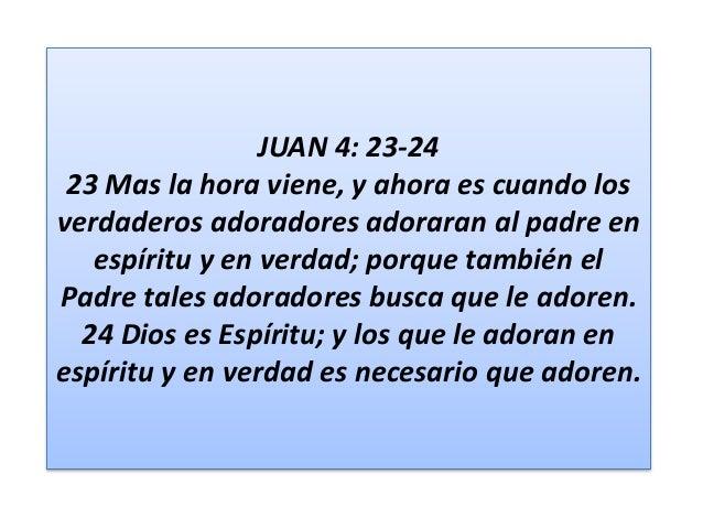 Resultado de imagen para JUAN 4:23,24