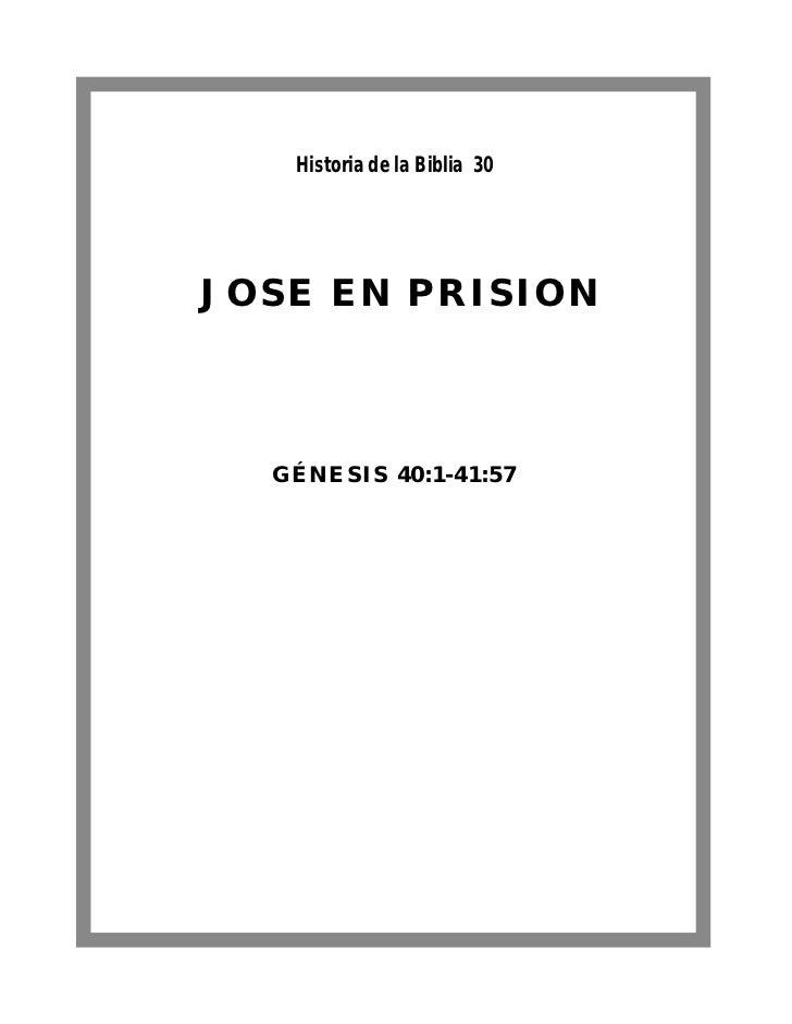 Jose en prision