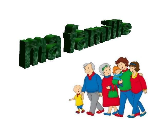 CAILLOU ET SA FAMILLE  • Salut, je m'appelle Caillou. Je vais vous  présenter ma famille