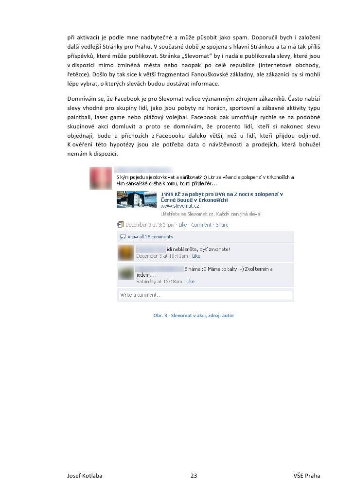 Využití Facebooku k propagaci značky