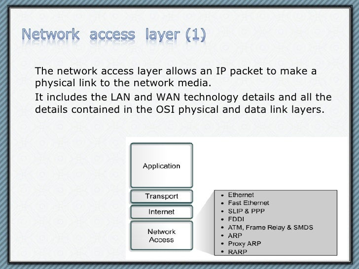 eTwinning - TCP/IP: network access layer