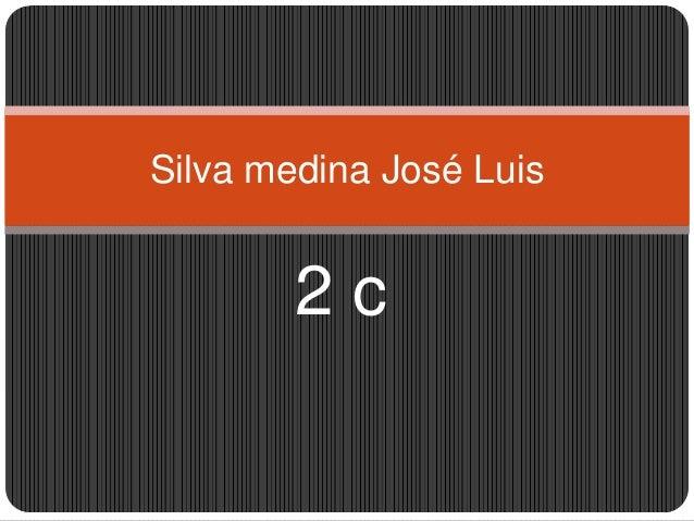 Silva medina José Luis  2c