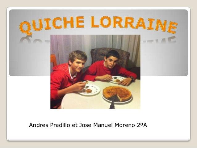 Andres Pradillo et Jose Manuel Moreno 2ºA