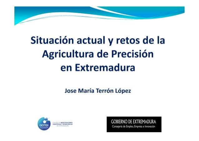 2  AGRICULTURA DE PRECISIÓN  OBJETIVO:  Gestionar los cultivos teniendo en cuenta la  variabilidad espacial de los suelos ...