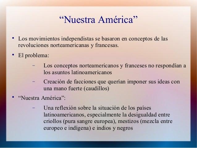 Nuestra America Marti