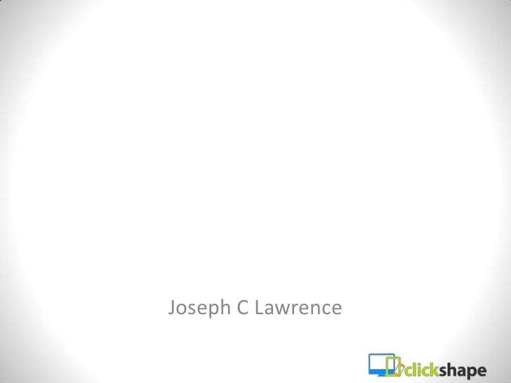 Joseph C Lawrence