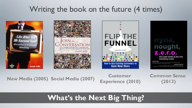 INBOUND Bold Talks: Joseph Jaffe Slide 2