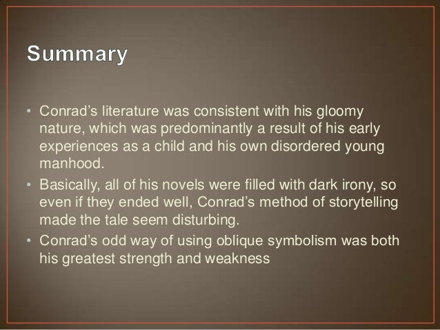 """a story of life and death in heart of darkness a novella by joseph conrad Joseph conrad, original name józef teodor konrad korzeniowski, (born december 3, 1857, berdichev, ukraine, russian empire [now berdychiv, ukraine]—died august 3, 1924, canterbury, kent, england), english novelist and short-story writer of polish descent, whose works include the novels lord jim (1900), nostromo (1904), and the secret agent (1907) and the short story """"heart of darkness"""" (1902."""