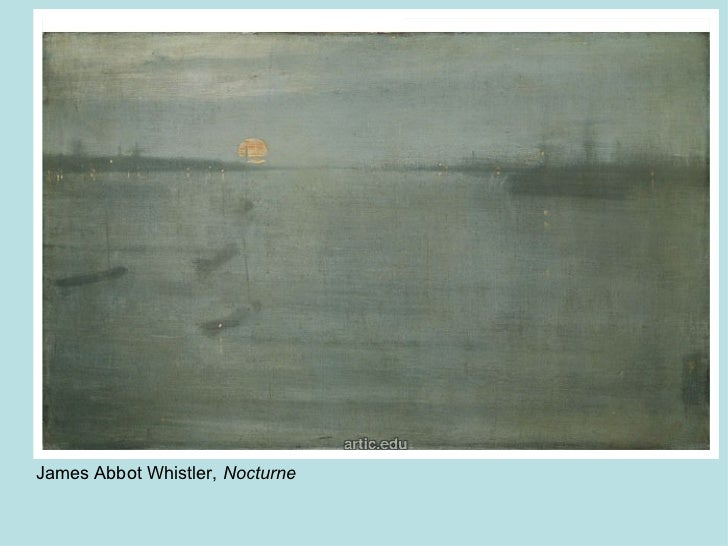 James Abbot Whistler,  Nocturne