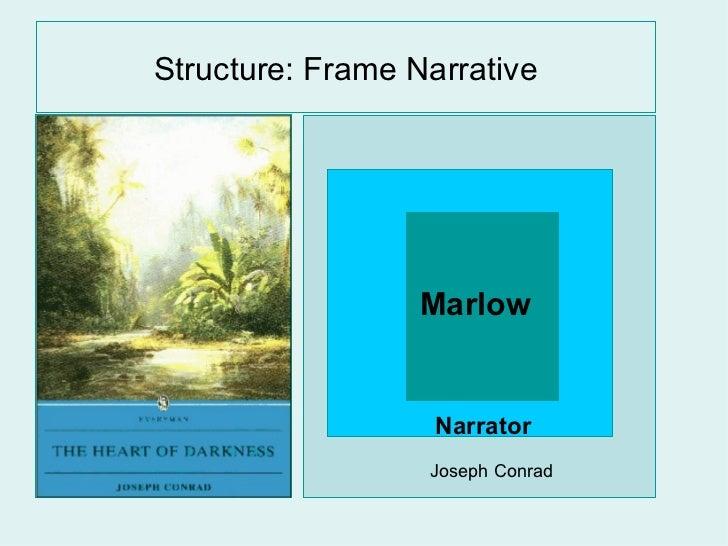 Structure: Frame Narrative Joseph Conrad Narrator  Marlow