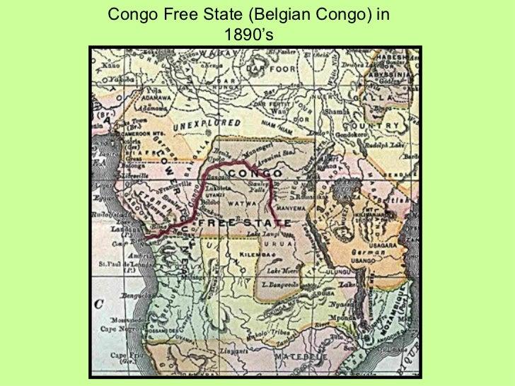 Congo Free State (Belgian Congo) in 1890's