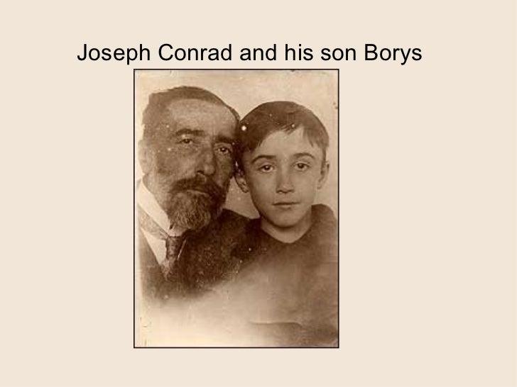 Joseph Conrad and his son Borys