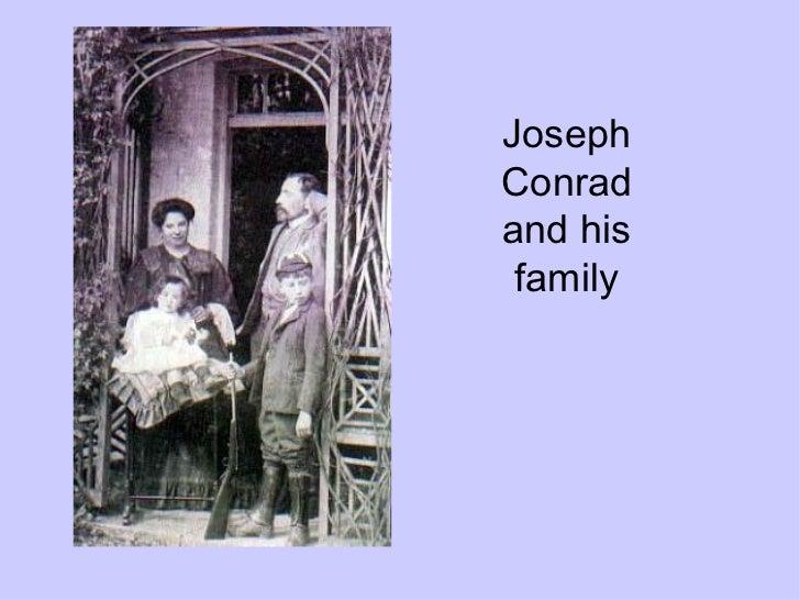 Joseph Conrad and his family