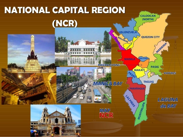 national capital region philippines pin