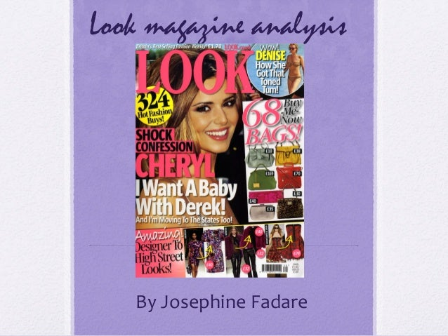 Look magazine analysis    By Josephine Fadare