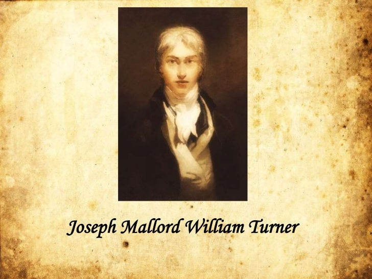 "essay on joseph mallord william turner Joseph mallord william turner's ""whalers"" (circa 1845), at the  essay published  in a museum bulletin, ""the open ocean in turner's day was."