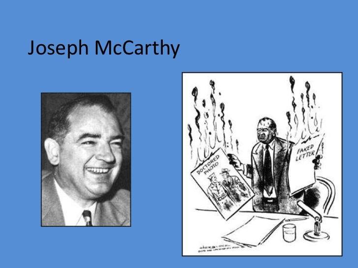Joseph McCarthy<br />