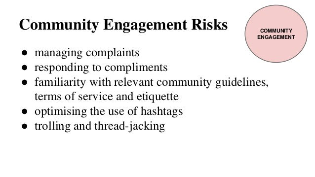 the effects of engagement risk and