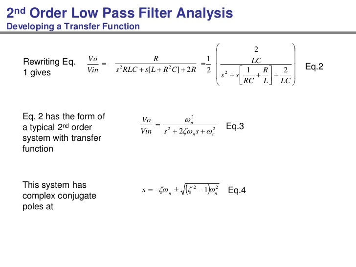 Signal Integrity Analysis of LC lopass Filter