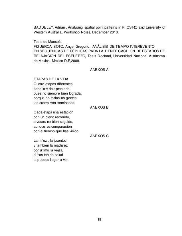 19 BADDELEY. Adrian , Analysing spatial point patterns in R, CSIRO and University of Western Australia, Workshop Notes, De...