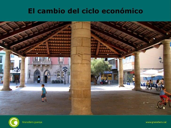 El cambio del ciclo económico