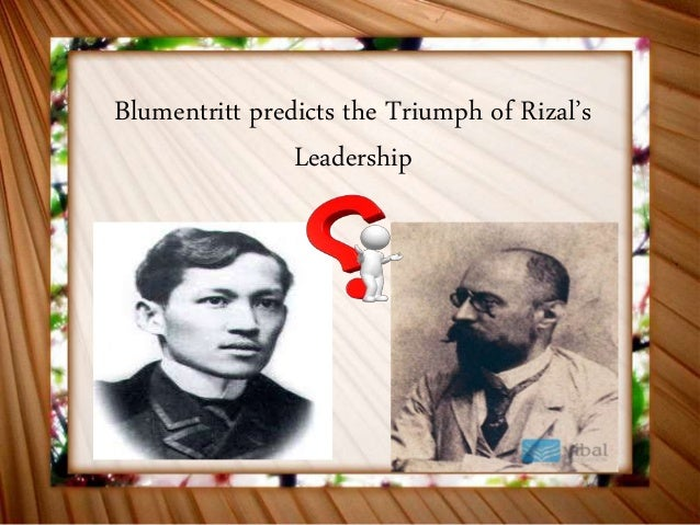 Introduction about jose rizal transformational leader