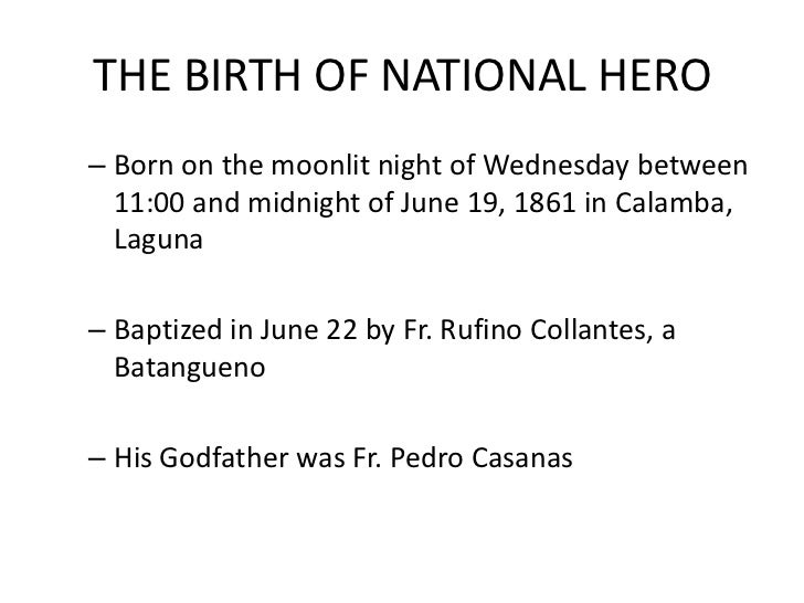 Short Biography of Jose Rizal: National Hero of the Philippines