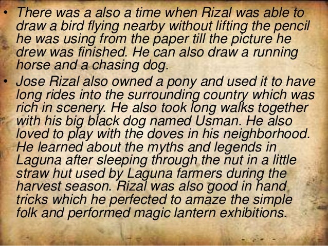 jose rizal s secrets Jose rizal was a filipino poet, nationalist and novelist amongother things hs secret mission was a trip to spain where he wasgoing to complete his studies and.