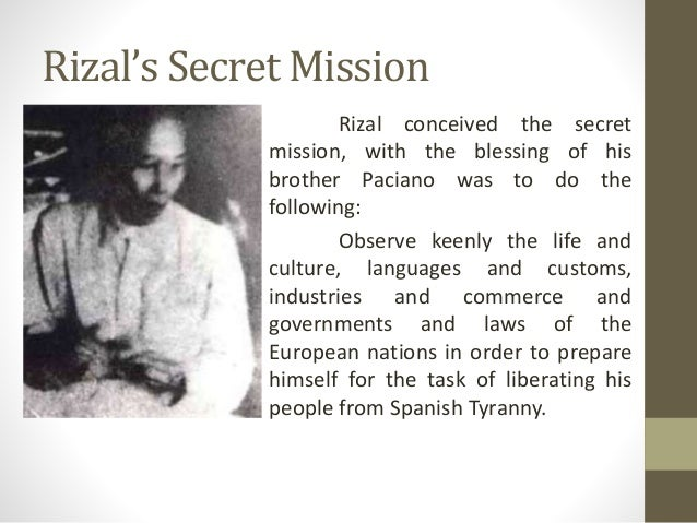 recommendation in rizal life Life of jose rizal t gomez one of the most important historical events in the history of the philippines is the life of a national hero who greatly influenced many filipinos and had significant contributions in the development of filipino nation.