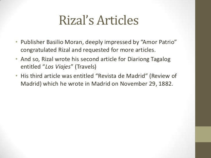 the summary of the essay my home by dr jose rizal The winning essay: a reflection on rizal's writings by benjamin kyle del rosario june 25, 2012 at 1:56am in this essay, i wish to express my admiration for dr jose rizal i feel that his writings inspire me and i want to share my reflections about one of his most famous poems dr jose rizal was born into a rich family as the.