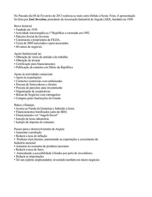 No Passado dia 08 de Fevereiro de 2013 realizou-se mais outro Debate à Sexta- Feira. A apresentaçãofoi feita por José Seve...