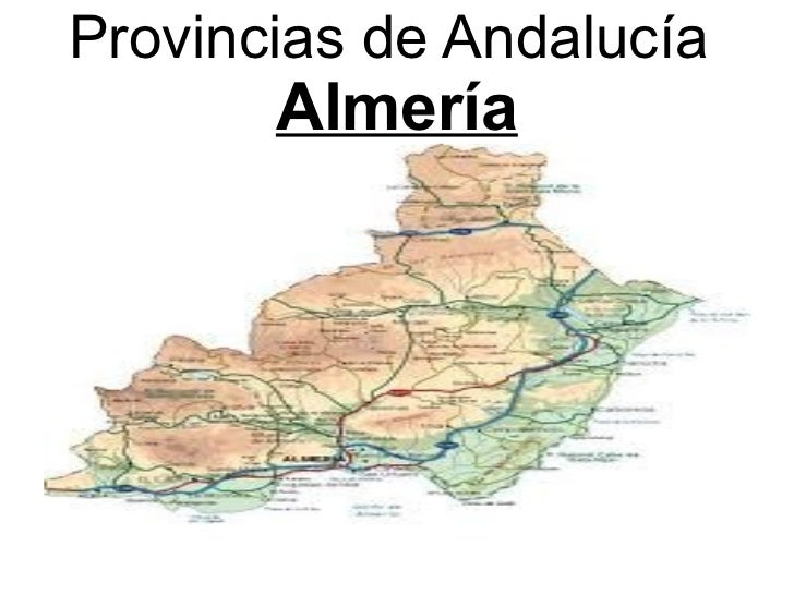 Provincias de Andalucía  Almería