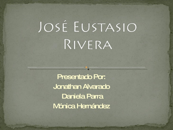 Presentado Por:  Jonathan Alvarado  Daniela Parra Mónica Hernández