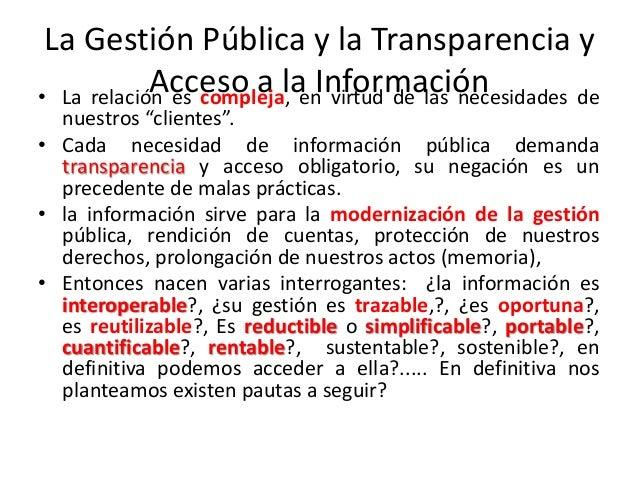 Modelos de gestion para la transparencia y acceso de la for Oficina de transparencia y acceso ala informacion