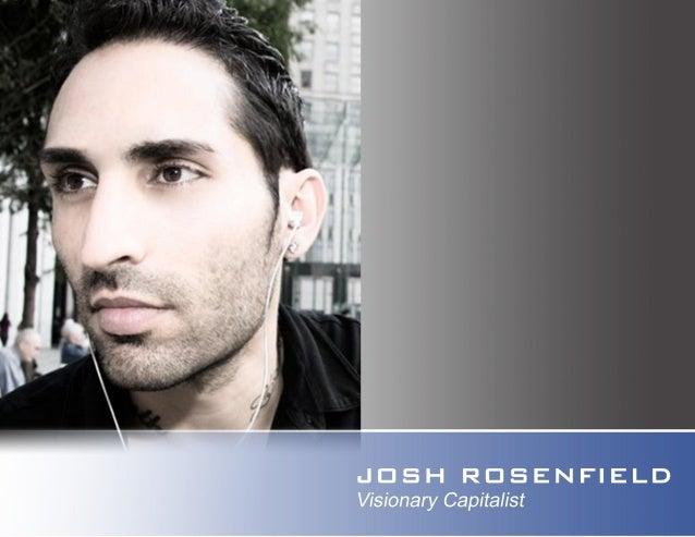 Josh Rosenfield  I  VC Intro