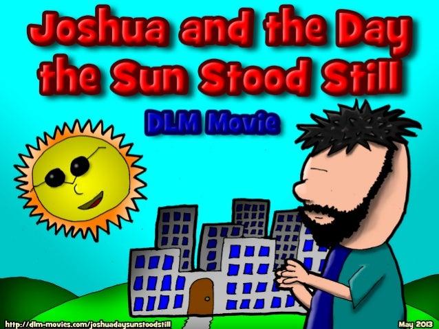 Joshua And The Day The Sun Stood Still