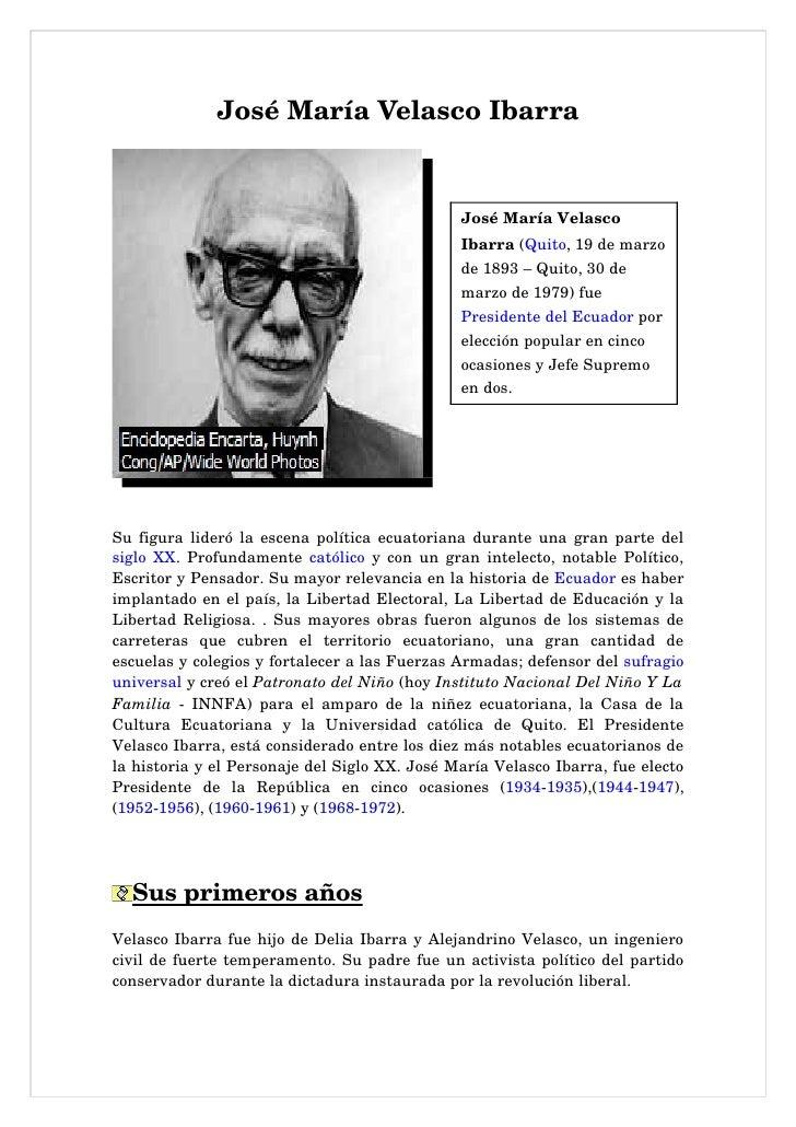 JoséMaríaVelascoIbarra                                                        JoséMaríaVelasco                      ...