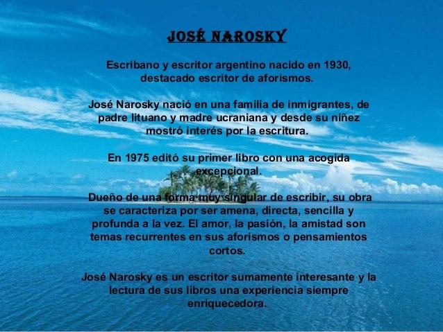Frases Célebres De José Narosky