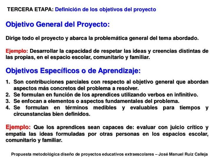 Jos Ruiz Calleja Metodolog A Dise O Proyectos Educativos