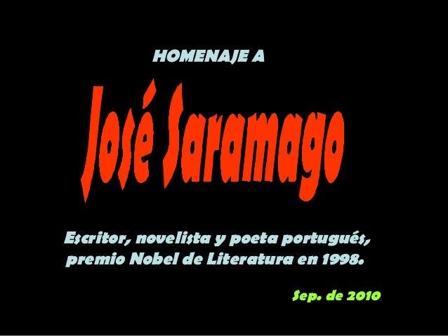 CITAS CITABLES JOSE SARAMAGO