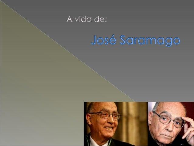 José Saramago nasceu na vila de Azinhaga, no concelho da Golegã, de uma família de pais e avós agricultores. A sua vida é ...
