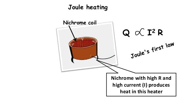 heating effect of electricity and joule law