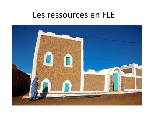 Les ressources en FLE