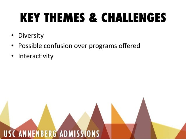 JOUR 450 - Client Pitch Presentation for USC Annenberg Admissions Slide 3